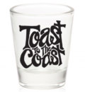 Toast to the Coast Shot Glass